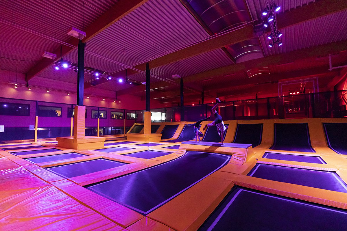 Belgium Trampoline Park Stands Out with CHAUVET DJ