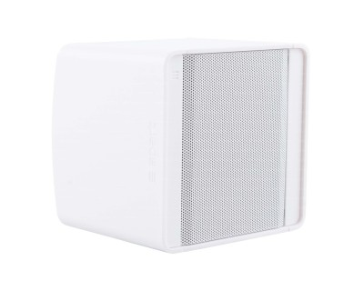 "*EX DEMO* KUBO3 White 3"" 40W 8ohm Cube Design Speaker"