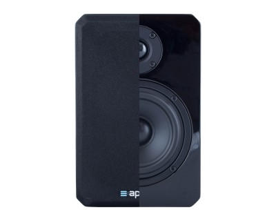 "VINCI4 Black Gloss 'HiFi' 4"" 2-Way Loudspeaker 120W/6ohm"