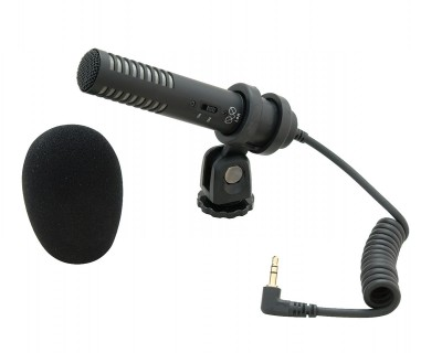 PRO24CMF Camera Shoe-Mount Stereo Cond Mic (3.5mm Jack)