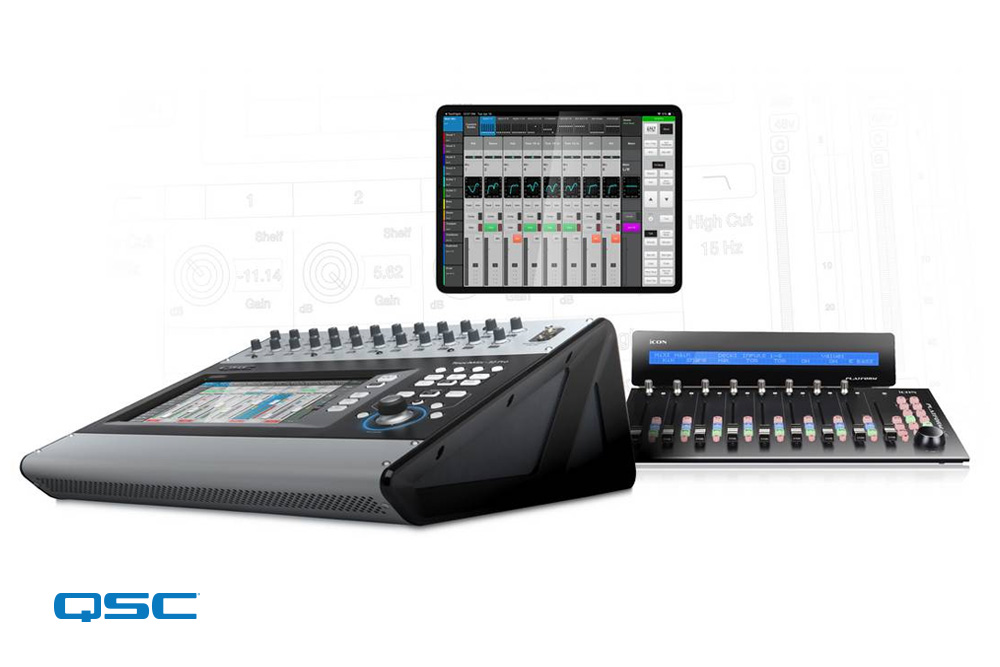 v2.0 Firmware Update for QSC TouchMix-30 Pro Digital Mixer