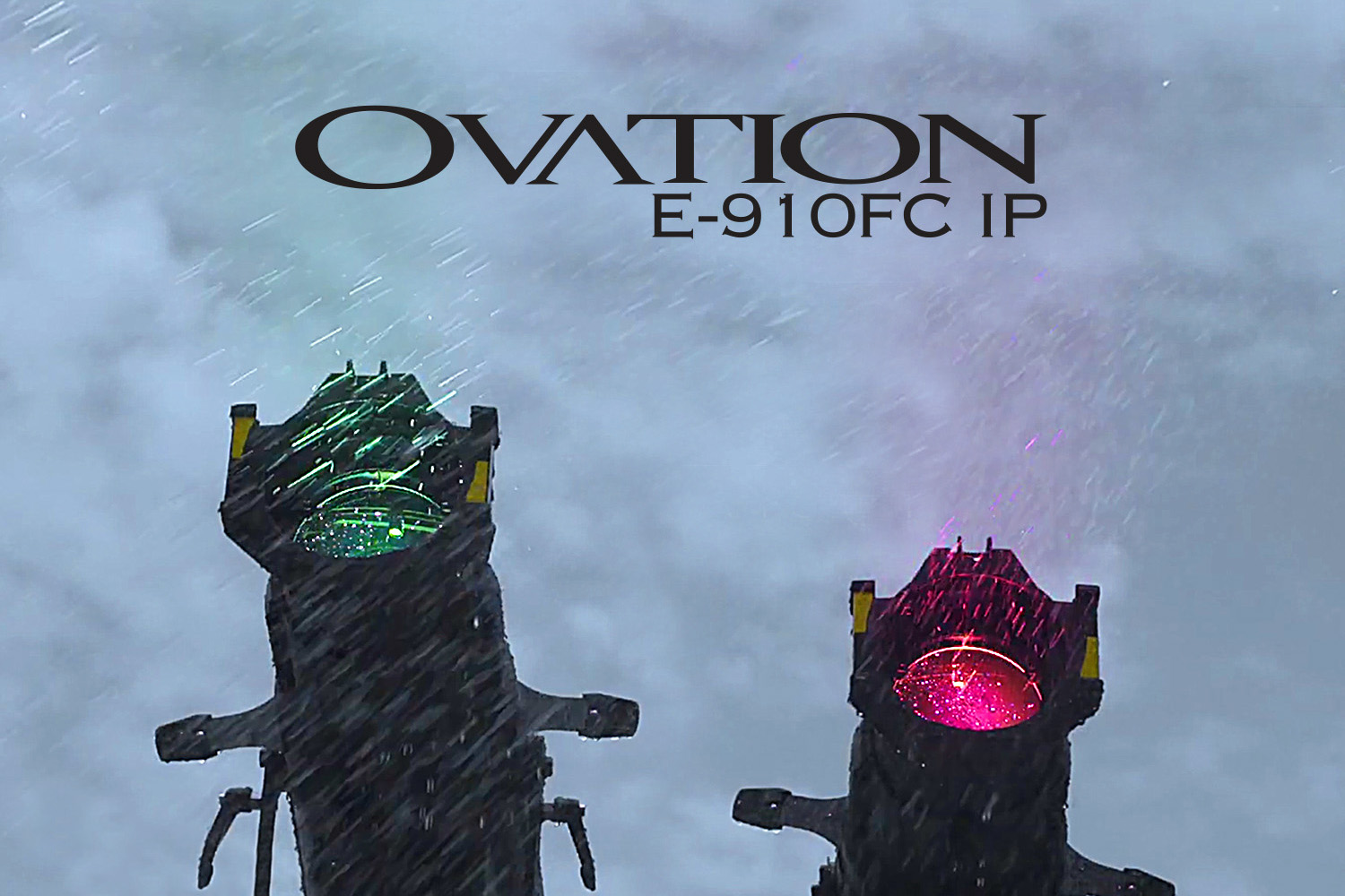 Colourful Rain or Shine: CHAUVET Pro Introduce Ovation E-910FC IP