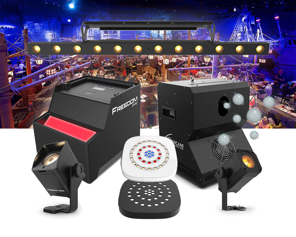 CHAUVET DJ Ushers in Event Lighting Game-Changers at DJ Expo
