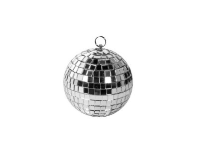 Mirrorball 10cm with Solid Plastic Core and Safety Chain