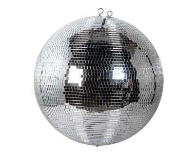 Mirrorball 50cm with Solid Plastic Core and Safety Chain