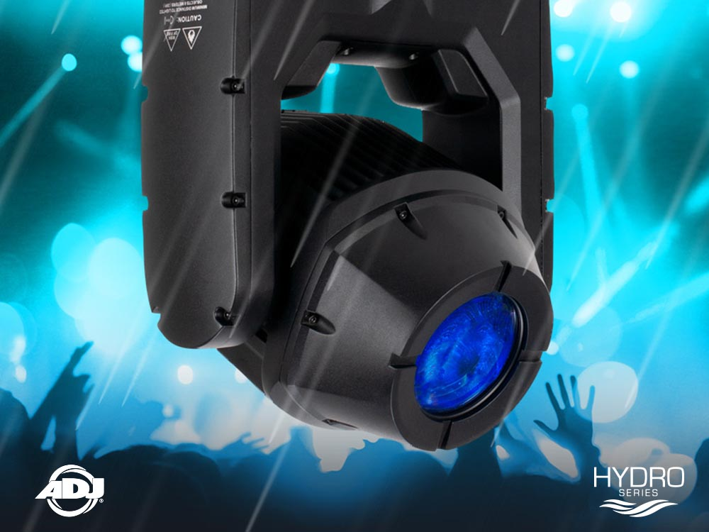 ADJ Launch Hydro Beam X1: a compact, powerful IP65-Rated Moving Head