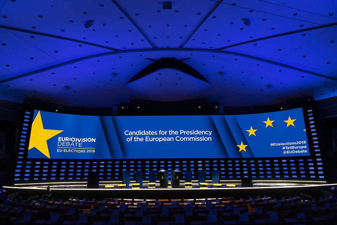 CHAUVET Professional Maverick MK3 Profile Powers European Election Debate