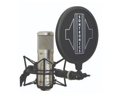 STC3X PACK SILVER 3-Pattern Condenser Mic Inc Accessories