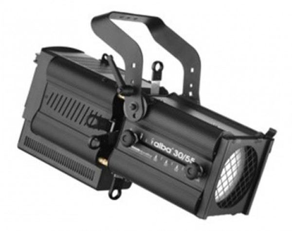 LDR Alba 30/55W LED Profile 200W 3200K 30-55deg DMX Warm White - Main Image