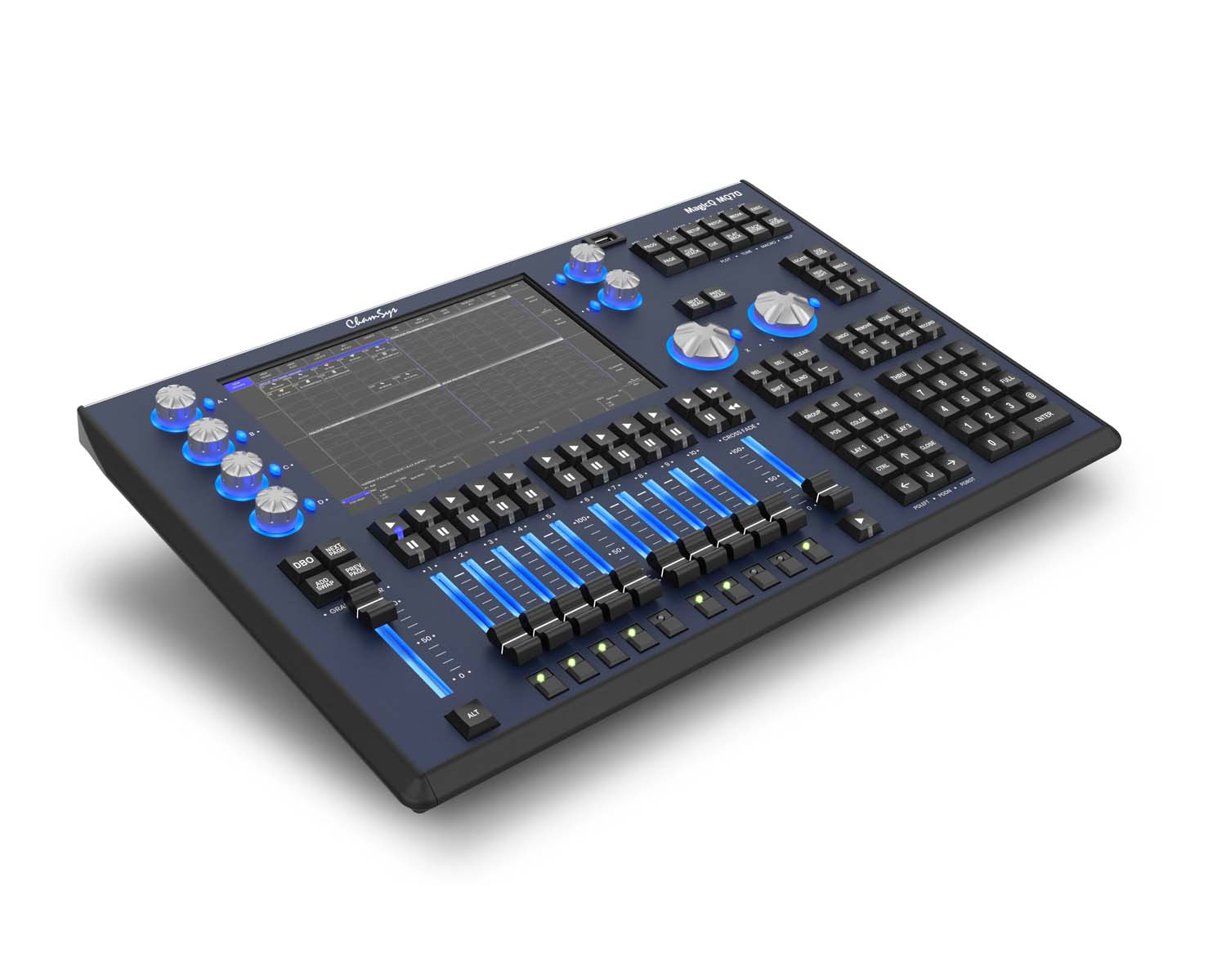 ChamSys MagicQ MQ70 Console Makes USA Debut At LDI