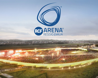 The new RCF Arena is the largest outdoor concert venue in Italy
