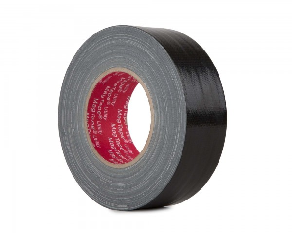 Le Mark MagTape Utility Grade Budget Gaffer Tape 48mmx50m BLACK - Main Image
