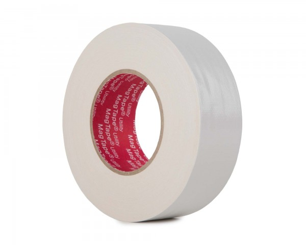 Le Mark MagTape Utility Grade Budget Gaffer Tape 48mmx50m WHITE - Main Image