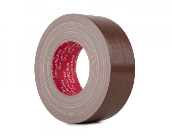 Le Mark MagTape Utility Grade Budget Gaffer Tape 50mmx50m BROWN - Main Image