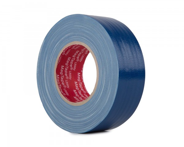 Le Mark MagTape Utility Grade Budget Gaffer Tape 50mmx50m DARK BLUE - Main Image