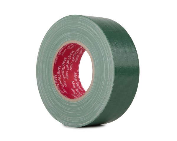 Le Mark MagTape Utility Grade Budget Gaffer Tape 50mmx50m DARK GREEN - Main Image