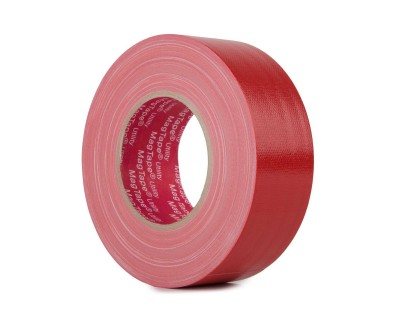 MagTape Utility Grade Budget Gaffer Tape 50mmx50m RED