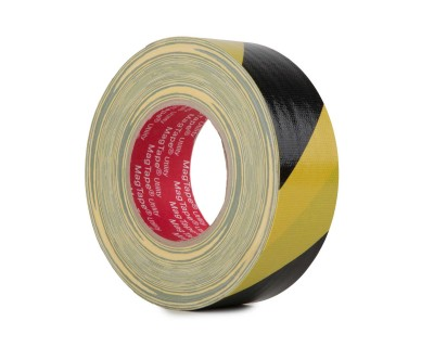 MagTape Utility Grade Budget Gaffer Tape 50mmx50m BLACK/YELL
