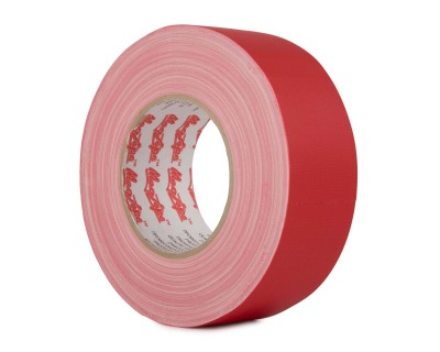 MagTape Matt 500 Residue Res Gaffer Tape 25mm x 50m RED