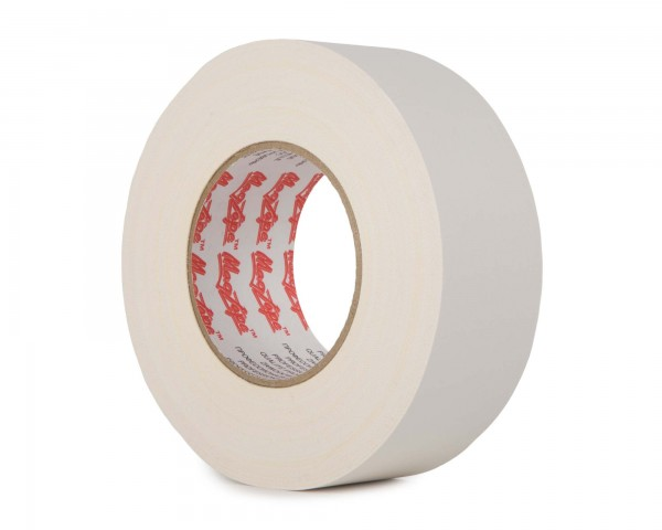 Le Mark MagTape Matt 500 Residue Res Gaffer Tape 25mm x 50m WHITE - Main Image