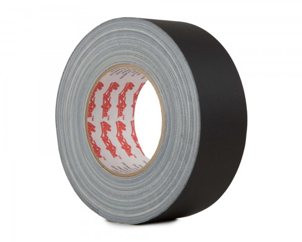 Le Mark MagTape Matt 500 Residue Res Gaffer Tape 75mm x 50m BLACK - Main Image