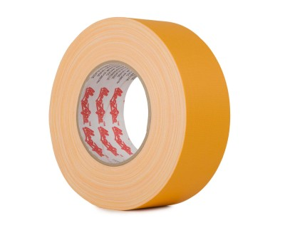 MagTape Matt 500 Residue Res Gaffer Tape 75mm x 50m YELLOW