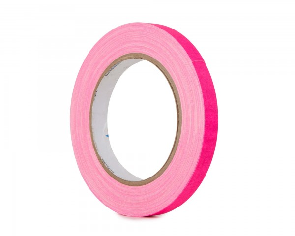 Le Mark Pro Gaff Fluorescent Gaffer Tape 12mm x 25yrds PINK - Main Image