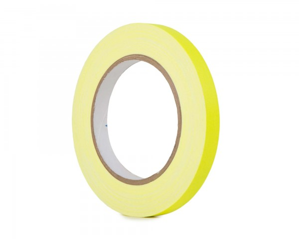 Le Mark Pro Gaff Fluorescent Gaffer Tape 12mm x 25yrds YELLOW - Main Image