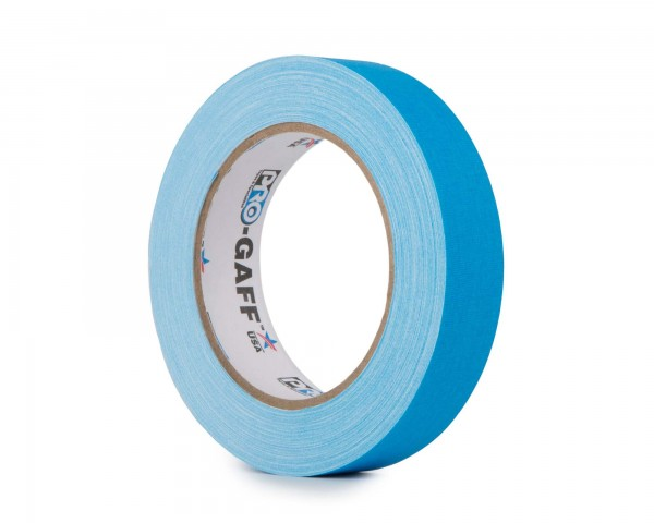 Le Mark Pro Gaff Fluorescent Gaffer Tape 24mm x 25yrds BLUE - Main Image