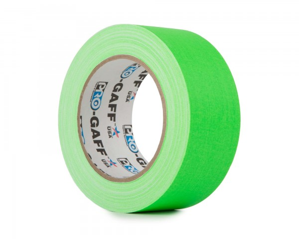 Le Mark Pro Gaff Fluorescent Gaffer Tape 48mm x 25yrds GREEN - Main Image