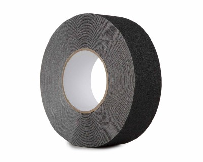 Anti Slip Tape Heavy Duty High Grab 50mm x 18.3m Roll BLACK