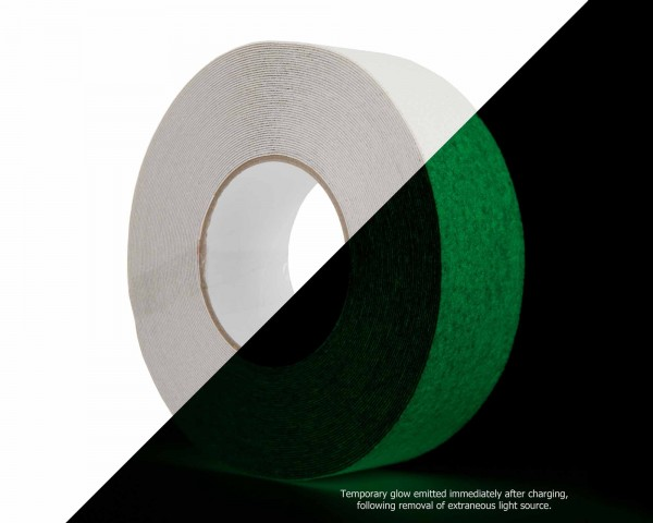Le Mark Anti Slip Tape 50mm x 18.3m Roll  PHOTO LUMINESCENT - Main Image