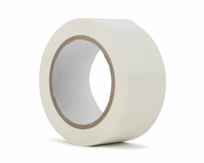 "PVC Dance Floor Marking Tape 50mmx33m (3"" Core)  MATT WHITE"