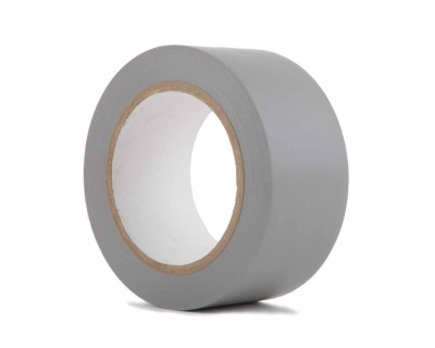 "PVC Dance Floor Marking Tape 50mmx33m (3"" Core)  MATT GREY"