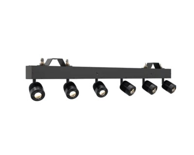LED Pin Spot Multi-Head Bars
