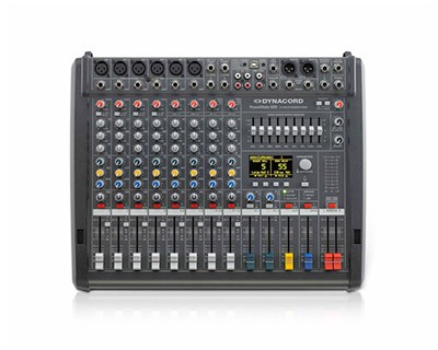 Powered Mixing Consoles
