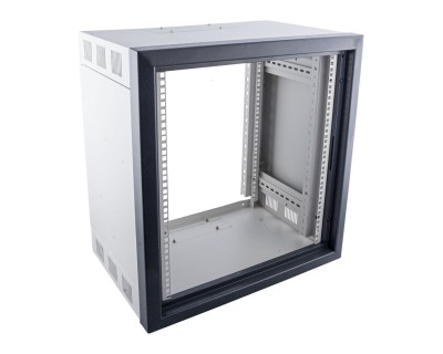 *B-GRADE* PRO WALL Installation Rack Grey 400mm Deep 12U