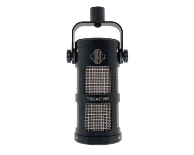 PODCAST PRO Dynamic Supercardioid Podcast/Broadcast Mic BLK