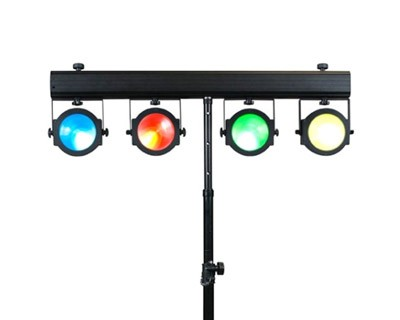 LED PAR Multi-Head Lighting Bars