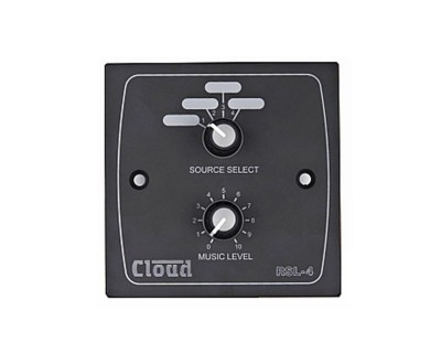 RSL-4B Remote Source & Level Control Plate for MA60 Black