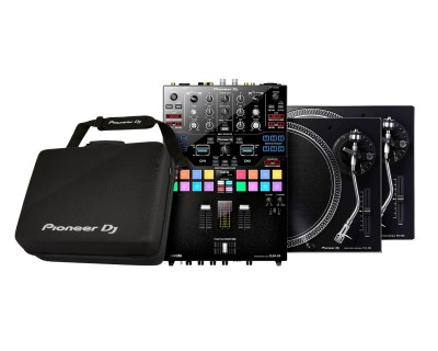 DJM-S9 BUNDLE 2 (DJM-S9 Mixer/ DJC-S9 / 2xPLX-500 Turntables)